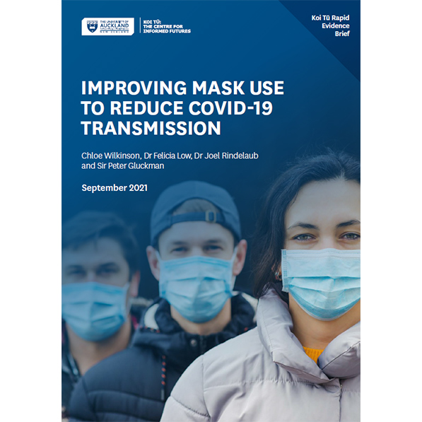 Improving mask use to reduce COVID-19 transmission | Koi Tū: The Centre for Informed Futures